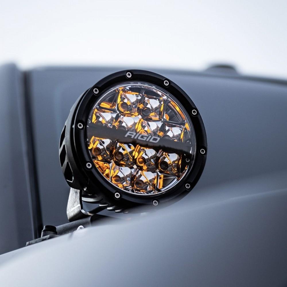 Rigid-Industries-360-Series-LED-Round-Fog-Light -6-Inch-Spot-White-Backlight-Pair-36200